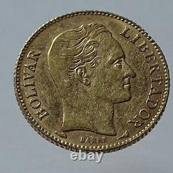 20 Bolivares 1912 Gold Coin