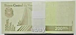 200000 Bundle x 100 Pcs Venezuela 200,000 Bolivar Lot UNC 2020 (2021) 20 Million