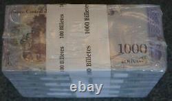 #23038, a, b 10 BUNDLES / 1 BRICK = 1,000 BANKNOTES VENEZUELA, 1000 Bolivares