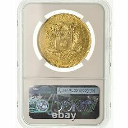 #489357 Coin, Venezuela, 100 Bolivares, 1889, Caracas, NGC, AU58, Gold, KM34