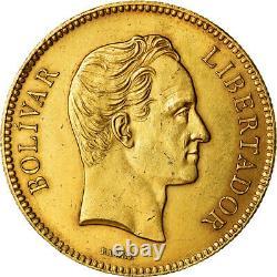 #489601 Coin, Venezuela, 100 Bolivares, 1887, Caracas, Gold, KM34