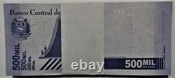 500000 Bundle Venezuela 500,000 Bolivar X 100 Pcs Lot UNC 2020 (2021) 50 Million