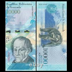 Brick 1000 PCS, Venezuela 10000 Bolivares, 2016/2017, P-New, Banknotes, UNC