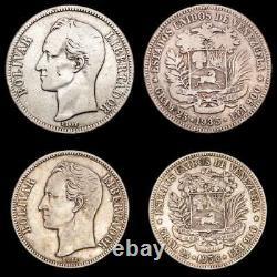 Lucernae Venezuela 5 Bolivares Simon Bolivar Venezuela 1935/1936