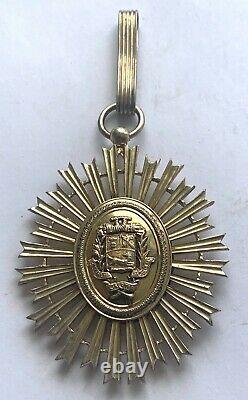 Simon Bolivar Silver Order Venezuela