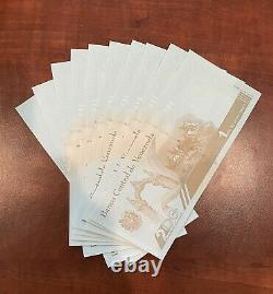 Venezuela 1,000,000 Bolivares Set of 10 New Unc 2020 Banknotes 1 Million 10 Pcs