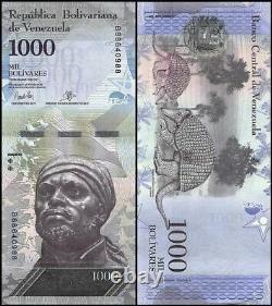 Venezuela 1,000 1000 Bolivar Fuertes X 1000 PCS, 2007-17, Used, Brick
