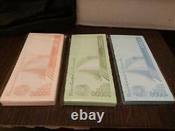 Venezuela 10.000 / 20.000 / 50.000 Bolivares 2019 New Bundle Total 300 Pcs Unc