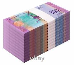 Venezuela 100 Bolivar Soberano X 1000 PCS, 2018, P-NEW, UNC, Ezequiel, Currency