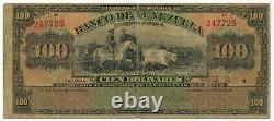 Venezuela 100 Bolivares 29. 1. 1934. PS313. (VZ001)