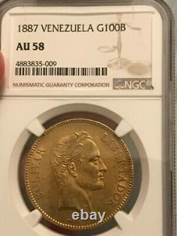 Venezuela 100 Bolivares Gold (pachano) Au58