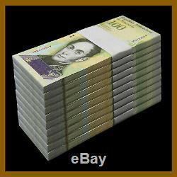Venezuela 100000 (100,000) Bolivares x 1000 Pcs Bundle Brick, 2017 P-100 Unc