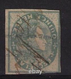 Venezuela 1871 Scott 033A, Invert, used, best piece in Venezuela stamp, EBV249