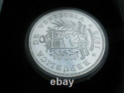 Venezuela 1975 25 50 Bolivares Jaguar Armadillo Conservation UNC Silver Coin Set