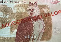 Venezuela 2-100 Bolivares (6 Pcs E SPECIMENES Full Set), P-88s-93s