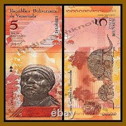 Venezuela 2 100 Bolivares x 100 Pcs Bundle Set, 2007/2015 P-(88-93) Unc