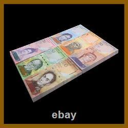 Venezuela 2 100 Bolivares x 50 Pcs Bundle Set, 2007/2015 P-(88-93) Unc