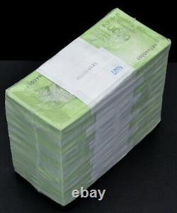 Venezuela $20,000 Bolivares 2019 New UNC 1 Brick 1,000 Pcs Ultra Rare Banknotes