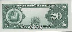 Venezuela 20 Bolivares ND. 1940's P 32s Specimen Uncirculated Banknote