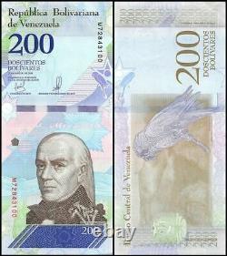 Venezuela 200 Bolivar Soberano x 1000 Pcs, 2018, P-107, UNC