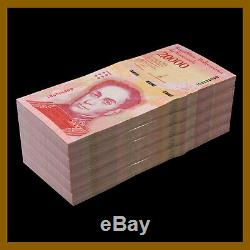 Venezuela 20000 (20,000) Bolivares x 500 Pcs Bundle, 1/2 Brick, 2016-17 P-99 Unc
