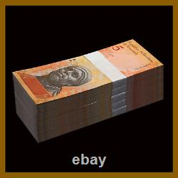 Venezuela 5 Bolivares Bundle of 500 Pcs (1/2 Brick) 2007-2016 P-89 Armadillo Unc