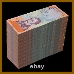 Venezuela 5 Bolivares Soberanos x 1000 Pcs Bundle (Brick), 2018 P-102 Unc