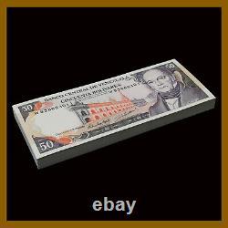 Venezuela 50 Bolivares x 100 Pcs Bundle, 1998 P-65f Unc
