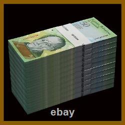 Venezuela 50 Bolivares x 1000 Pcs Bundle Lot (Full Brick), 2007-2016 P-92 Unc