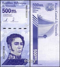 Venezuela 500,000 Bolivar Soberano Banknote, X 100 PCS, 2020, P-113, UNC, Bundle