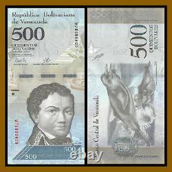 Venezuela 500 100,000 Bolivares (7 Pcs set) x 50 Pcs Bundle, 2016-2017 Unc