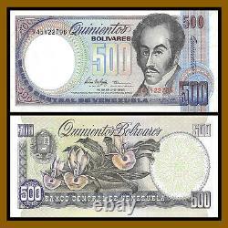 Venezuela 500 Bolivares x 100 Pcs Bundle, 1981-1998 P-67 Unc