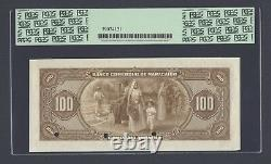 Venezuela Banco De Comercial De Maracabo 100 Bolivares 1933 PS183s Specimen UNC