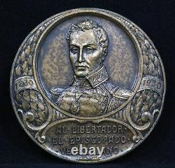 Venezuela Bishops Simon Bolivar 1930 Medal