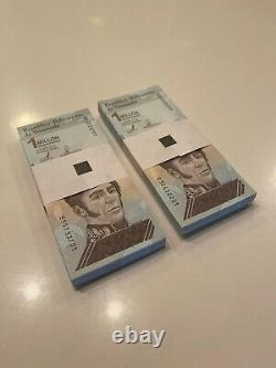 Venezuela Bolivares 200 Pcs 2 Bundle 1'000.000 -million New Millon