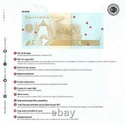 Venezuela Bolivares New Brick Set 3,000 PCS 1 Each 200,000, 500,000 & 1 Million