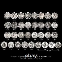 Venezuela Coin Collection Mixed Dates / Denominations (33 Coins) Rare Issues