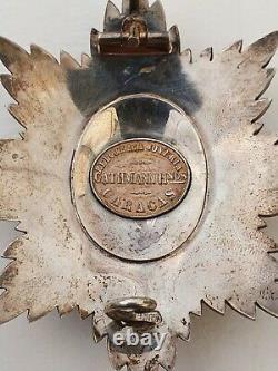 Venezuela Ordre de Simon Bolivar, plaque de Grand Officier, signée Cathmann