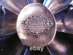 Vénézuela Plaque de Grand Croix de l'Ordre du Buste de Bolivar signée Halley