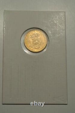 Venezuela Rare 10 Bolivares Gold 1930 Fdc