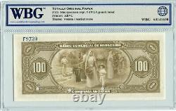 Venezuela S183s Specimen 100 Bolivares 1933, WBG 65 UNC Gem TOP