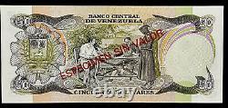 Venezuela Specimen 50 Bolivares, Enero 27 de 1981, Muestra Sin Valor / Espécimen