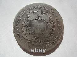 Venezuela Venezolano (5 Bolivares) 1876