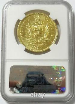 1975 Or Venezuela 1000 Bolivares Wwc Rock Bird Coin Ngc Mint State 66