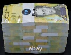 2017 Venezuela 100,000 Bolivares 1000 Pc Unc Brick Or Jaune Sku5175 Rare