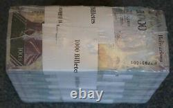 #23038, A, B 10 Bundles / 1 Brick = 1000 Billets Venezuela, 1000 Bolivares
