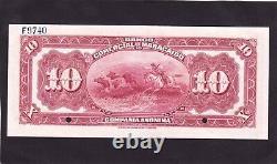 Banco Comercial De Maracaibo 10 Bolivares 1933 Spécimen Venezuela (p-s181) Unc