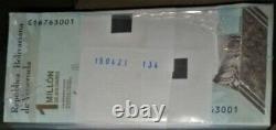 Bundle 100 Pcs 1 ́000.000 Bolivares 3 Septembre. 2020 Venezuela Unc Pick # 114