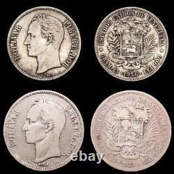 Lucernae Venezuela 5 Bolivares Simon Bolivar Venezuela 1910/1936