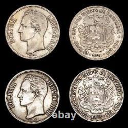 Lucernae Venezuela 5 Bolivares Simon Bolivar Venezuela 1924/1935
